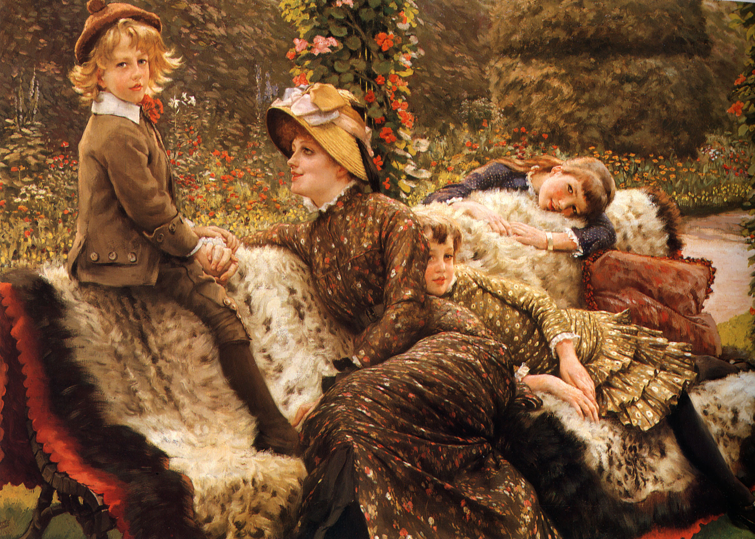 The Art Of Waiting By James Tissot The Hammock