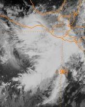 Tropical Storm Olaf (1997) Pacific tropical storm in 1997