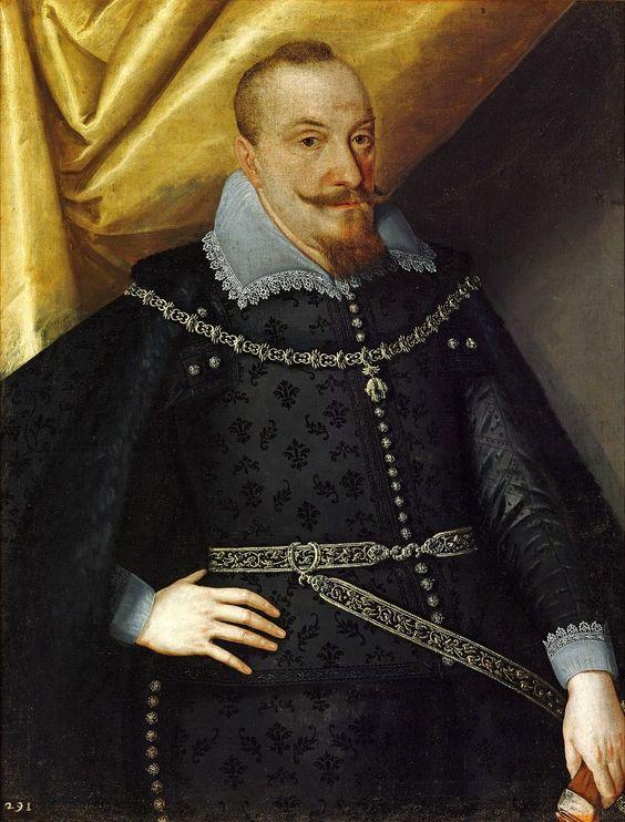 Portrait of Sigismund III Vasa (detail).