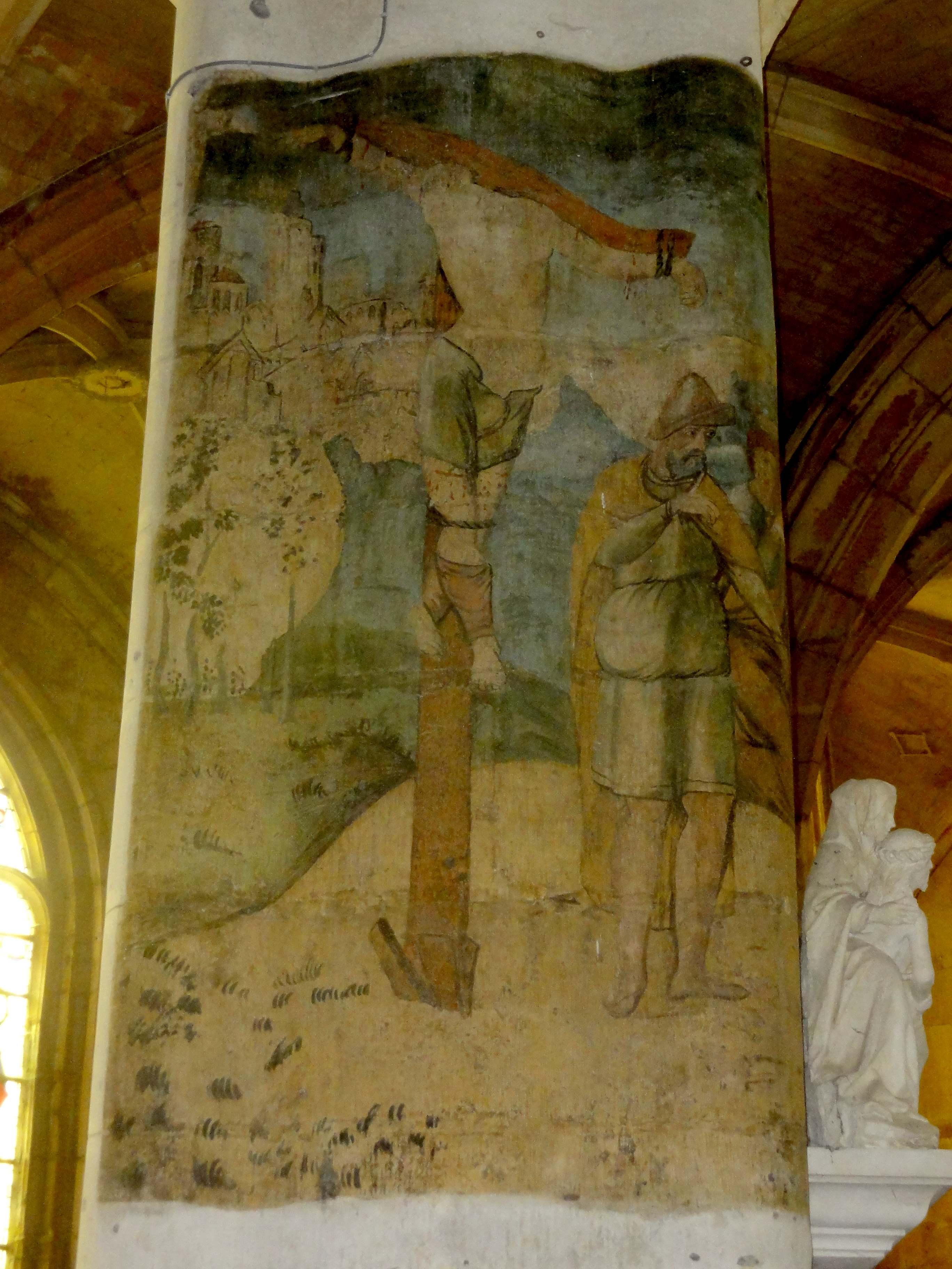 Fichier v theuil 95 glise notre dame croisillon sud for Les differents types de peintures murales
