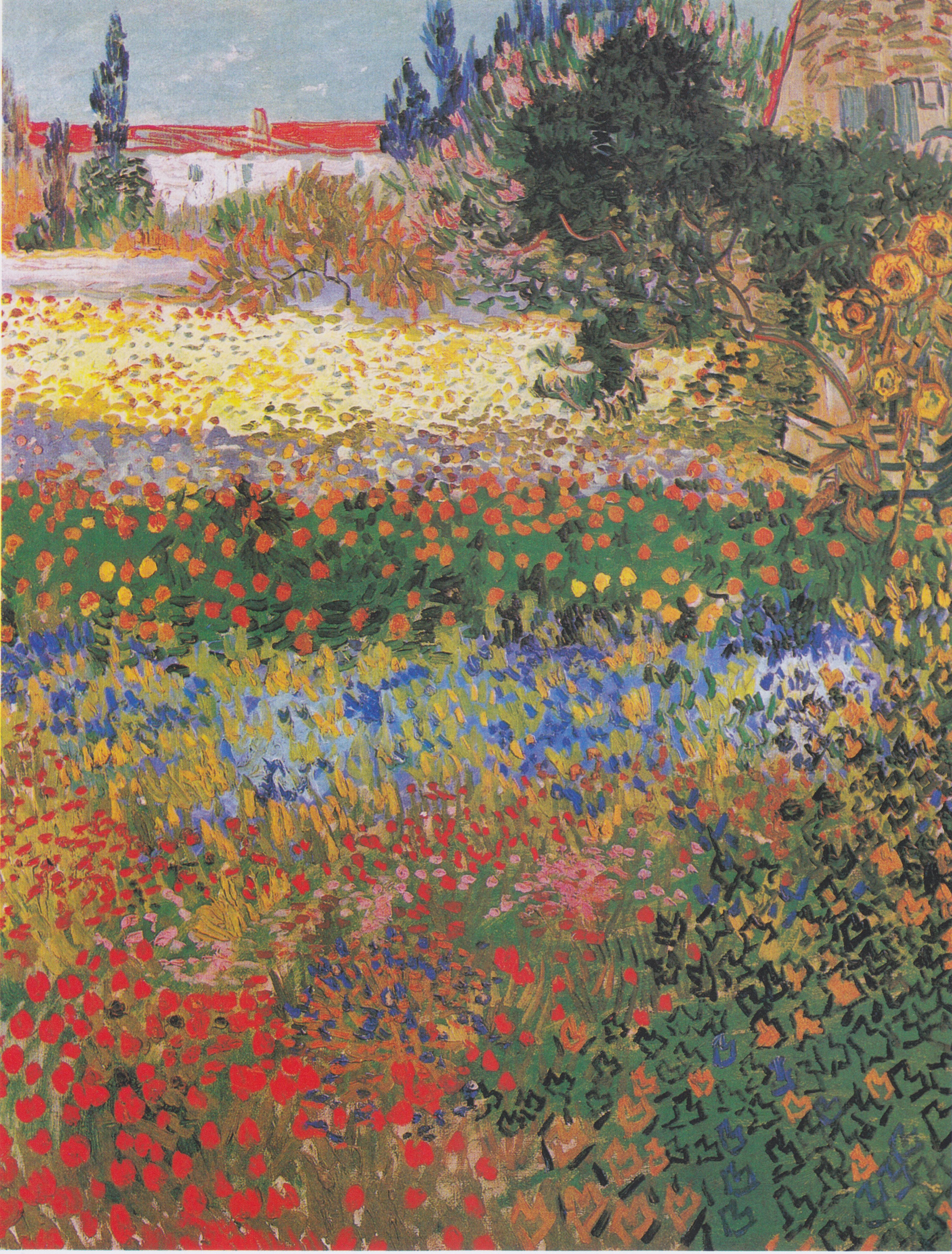 Bilder Blumengarten file gogh blumengarten jpeg wikimedia commons