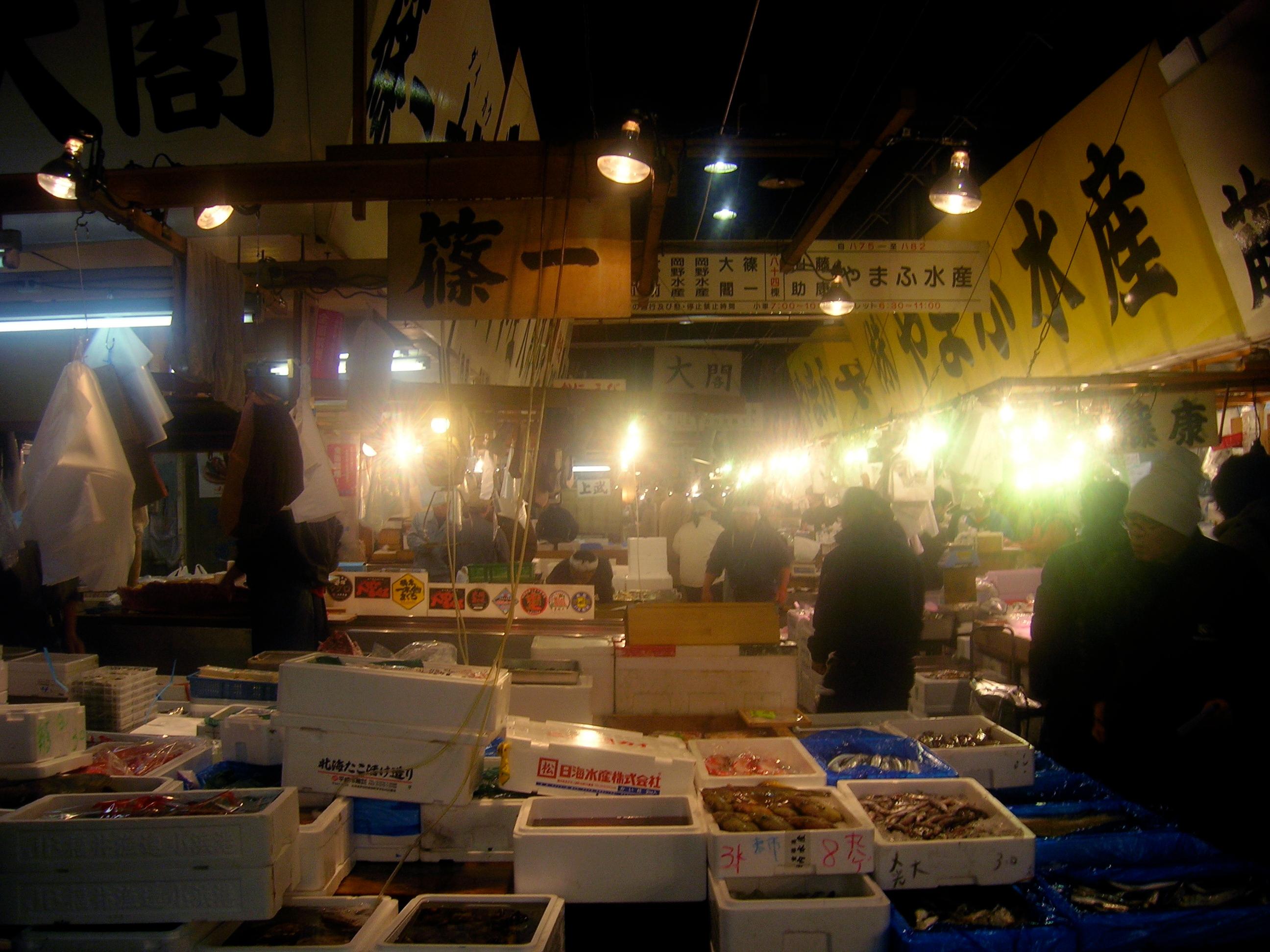 Japanese Street Food Tour of TSUKIJI Fish Market Tokyo