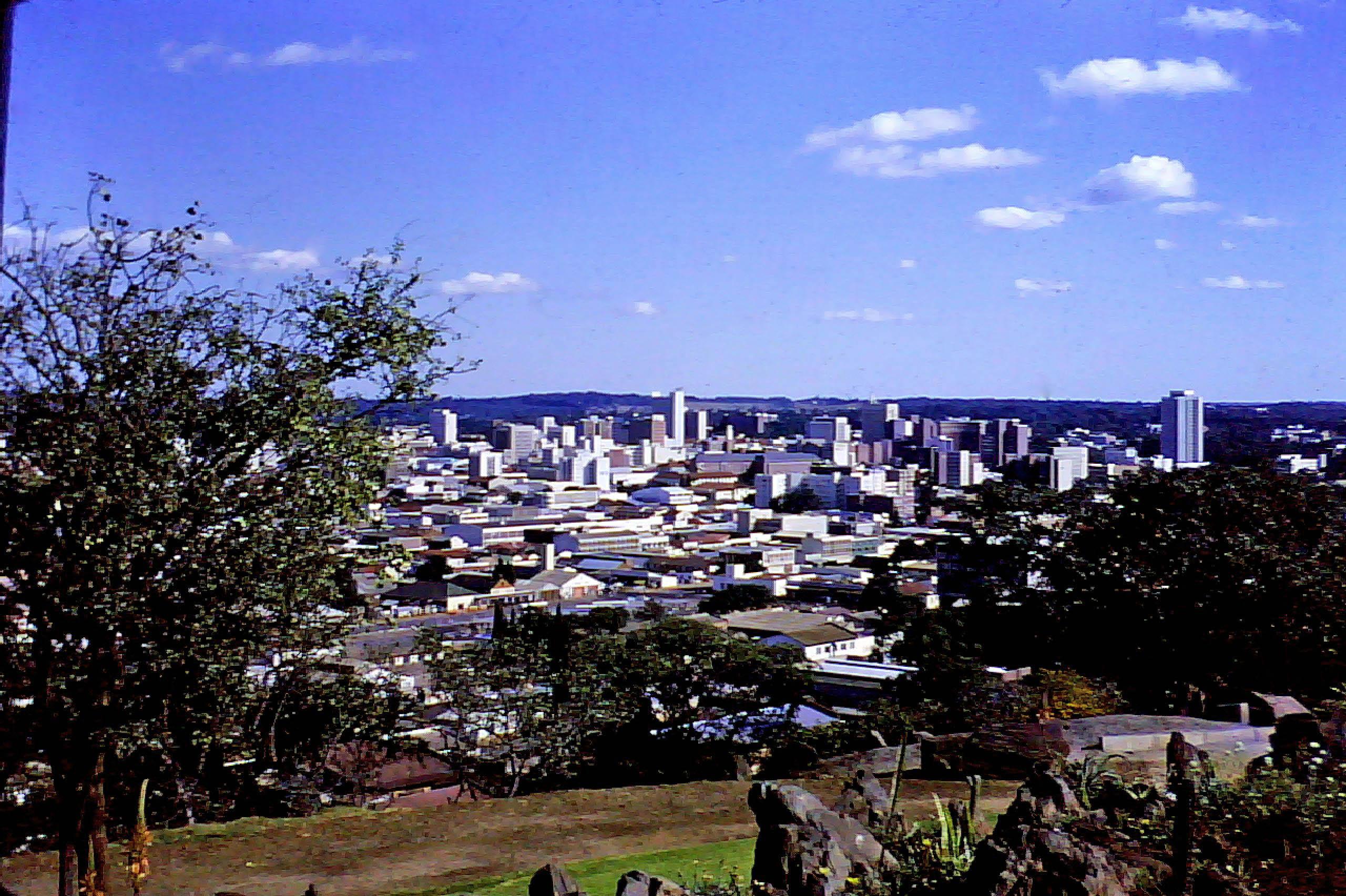 File:View from the Kopje, Salisbury Rhodesia ca1975 ...