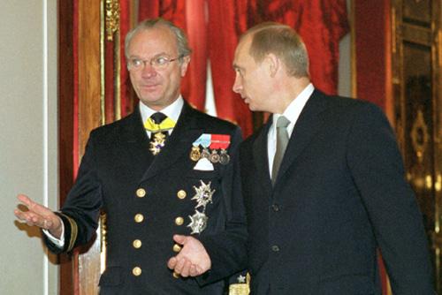 Vladimir Putin 8 October 2001-4