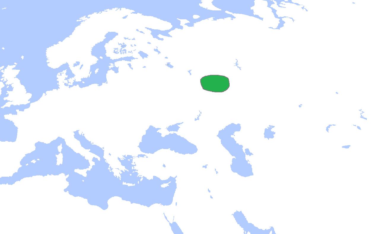 Localizarea Bulgariei de pe Volga