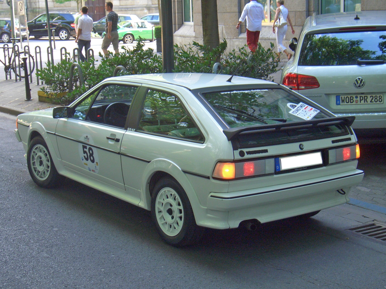 File:Volkswagen Scirocco WHITE CAT Gen2 53B 1985 backleft 2011-06-04