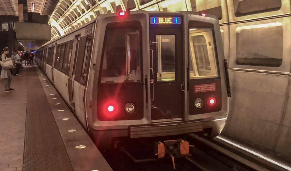 Blue Line (Washington Metro) - Wikipedia