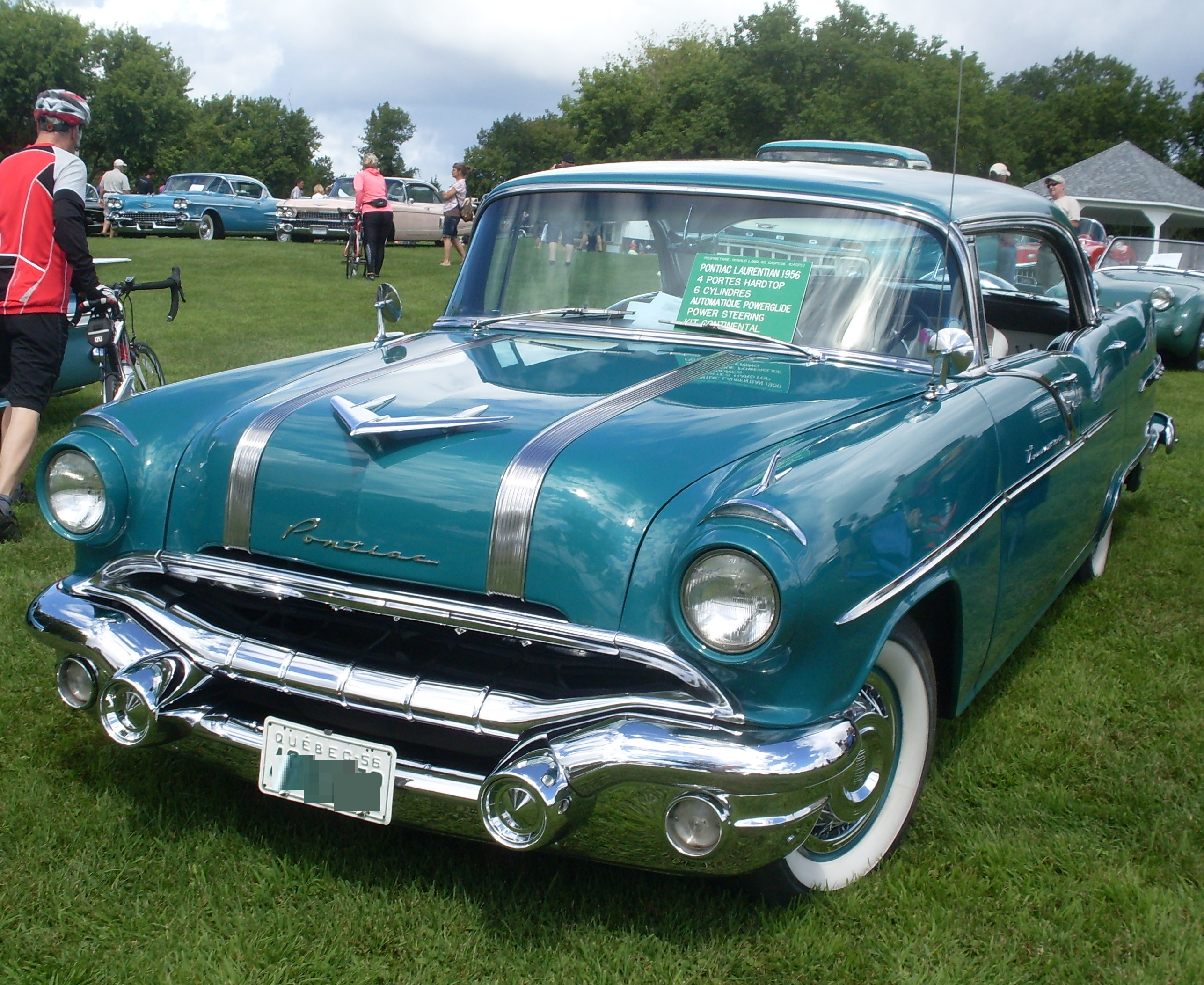 File 56 Pontiac Laurentian Auto Classique Vaq Baie D
