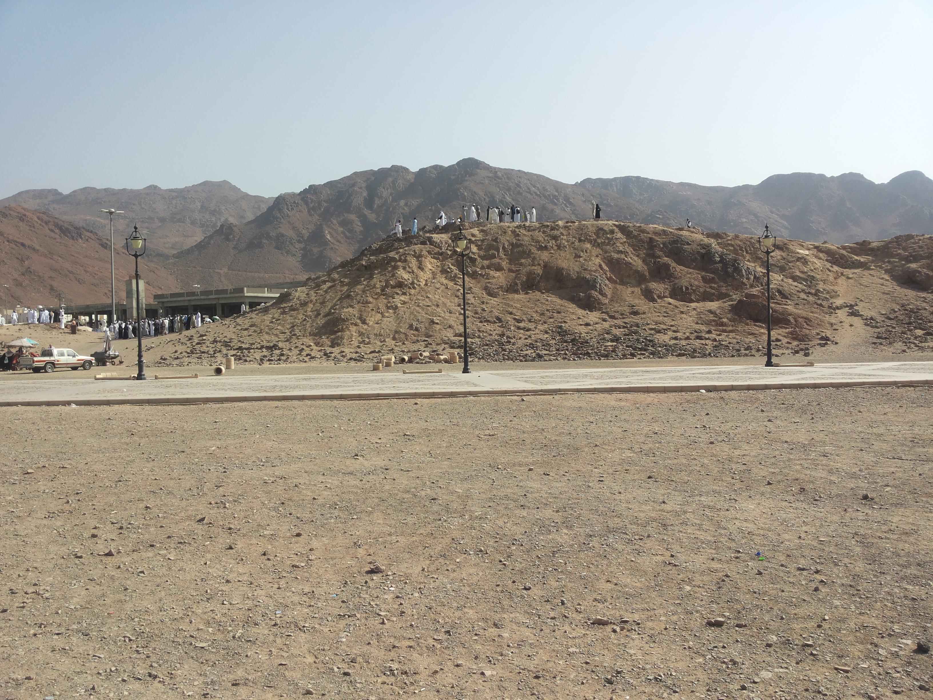 جبل الرماة ويكيبيديا