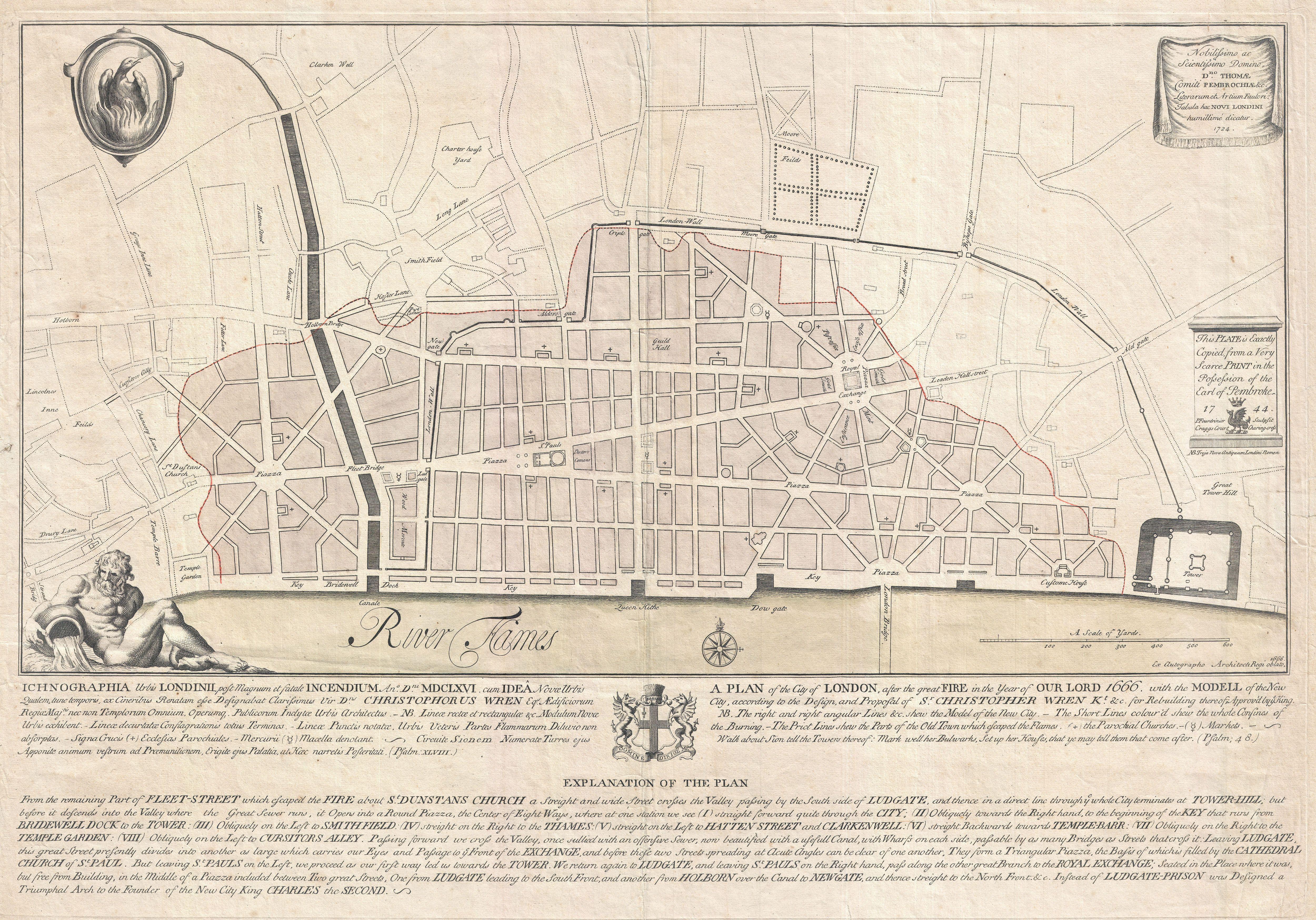 Great London Map.File 1744 Wren Map Of London England Geographicus London Wren