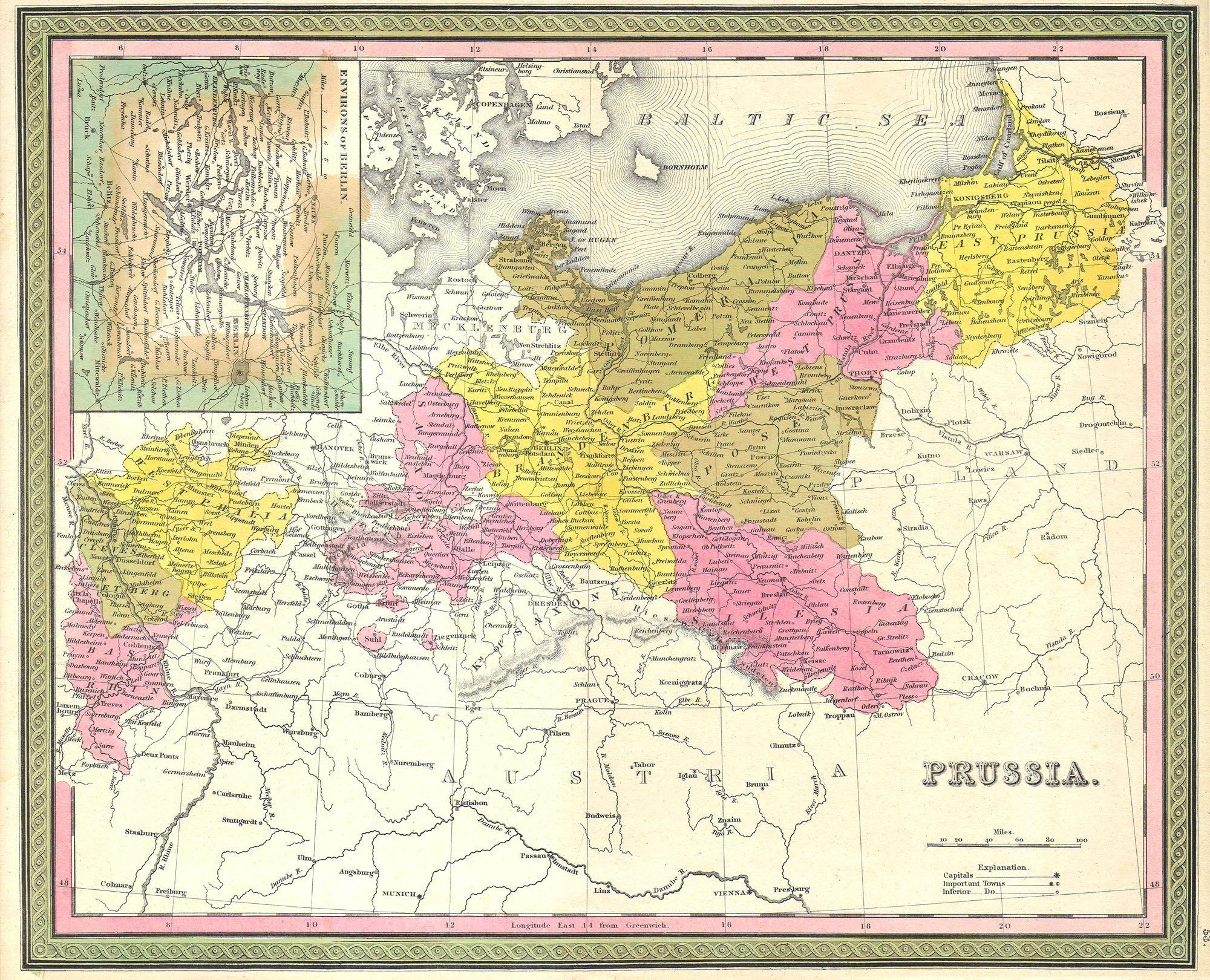 file1850 mitchell map of prussia germany geographicus prussia m 50