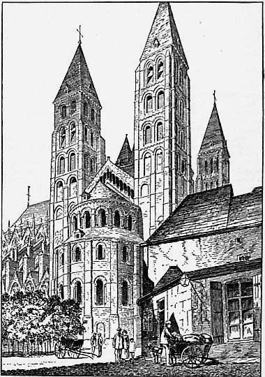 1911 Britannica-Architecture-Tournai Cathedral.png