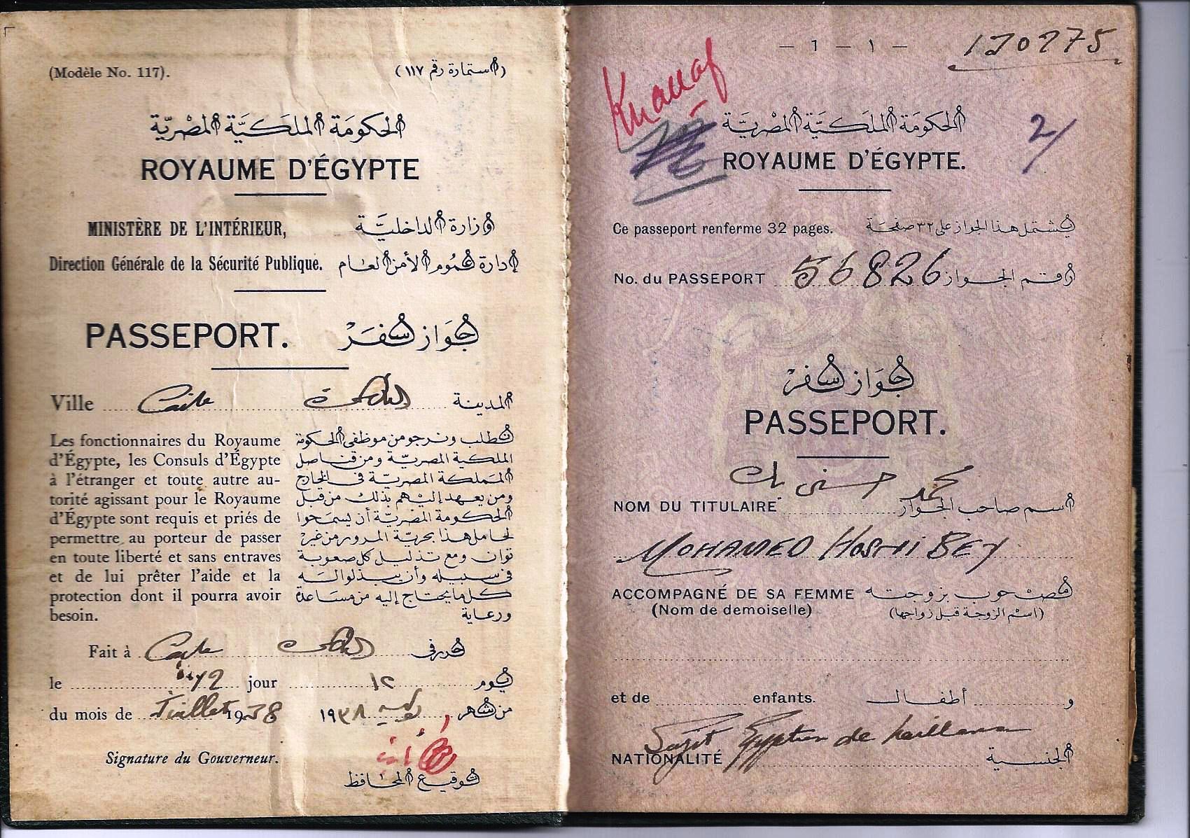 Egyptian passport - Wikipedia