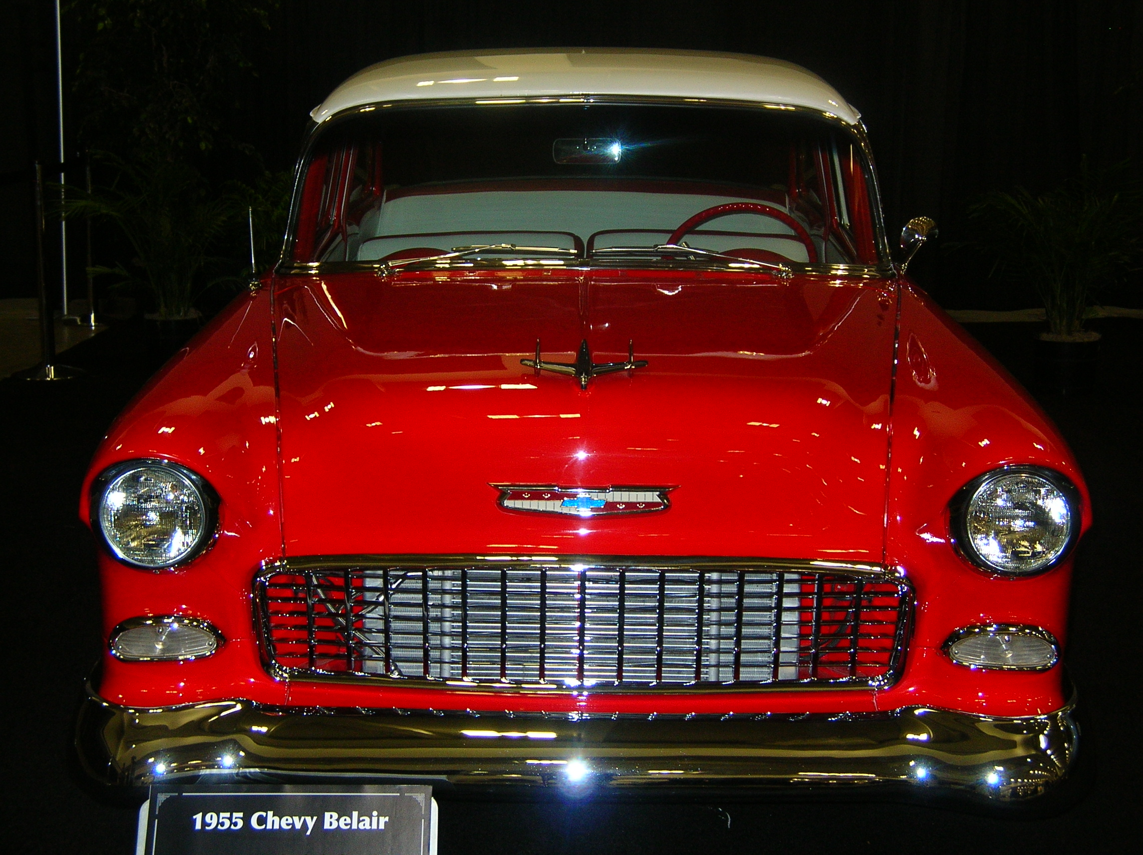 File 1955 red chevrolet bel air front jpg