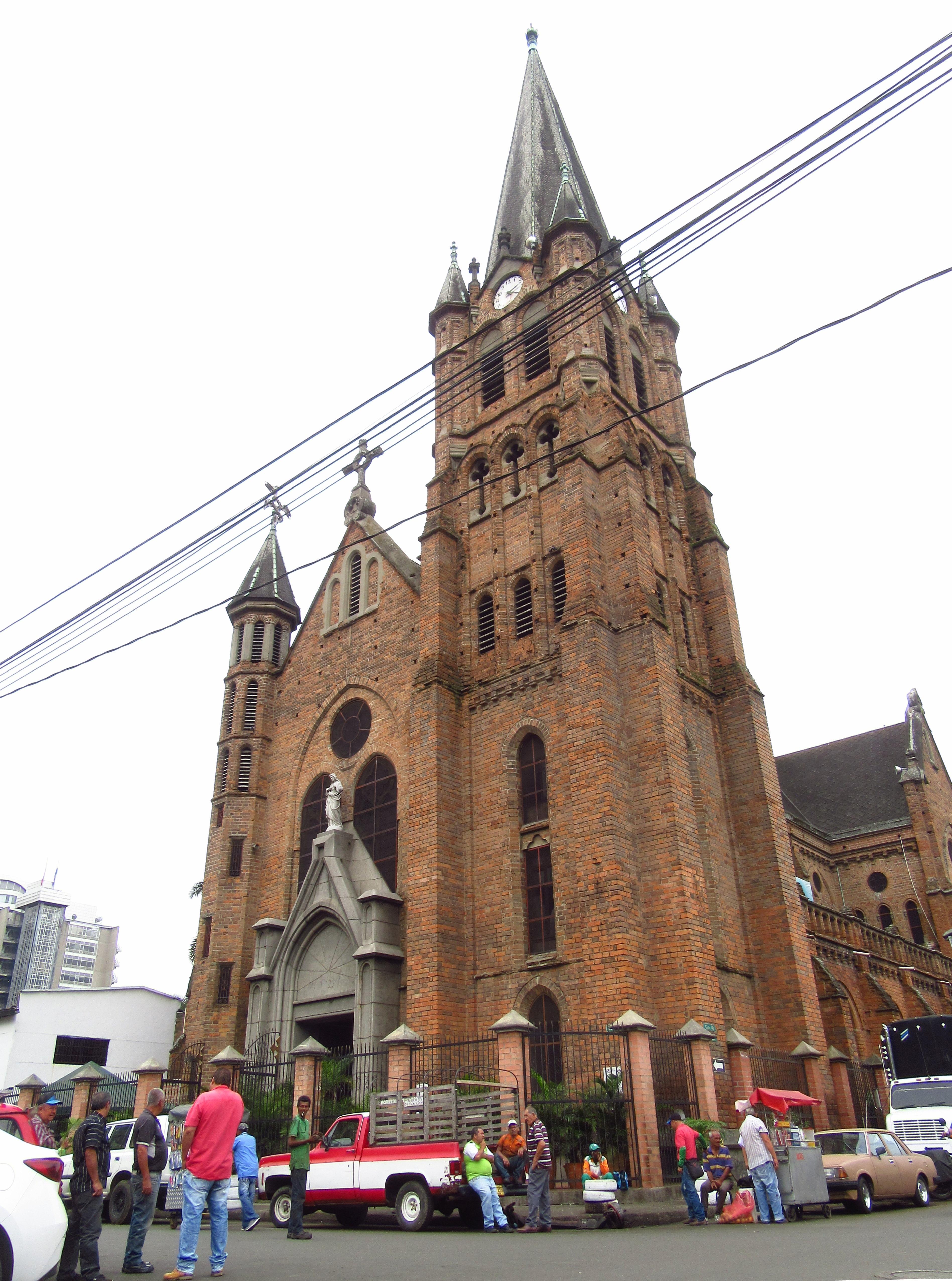 Archivo 2018 Medellín Iglesia Del Sagrado Corazón De Jesús Jpg Wikipedia La Enciclopedia Libre