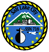Salt Lake City's insignia.