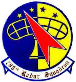 Emblem of the 798th Radar Squadron