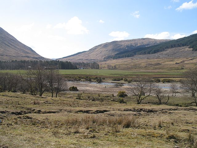 A braided river, Auch - geograph.org.uk - 776702