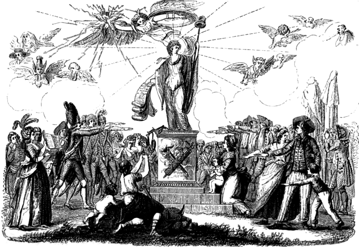 The Acceptance of the French Constitution of 1791.