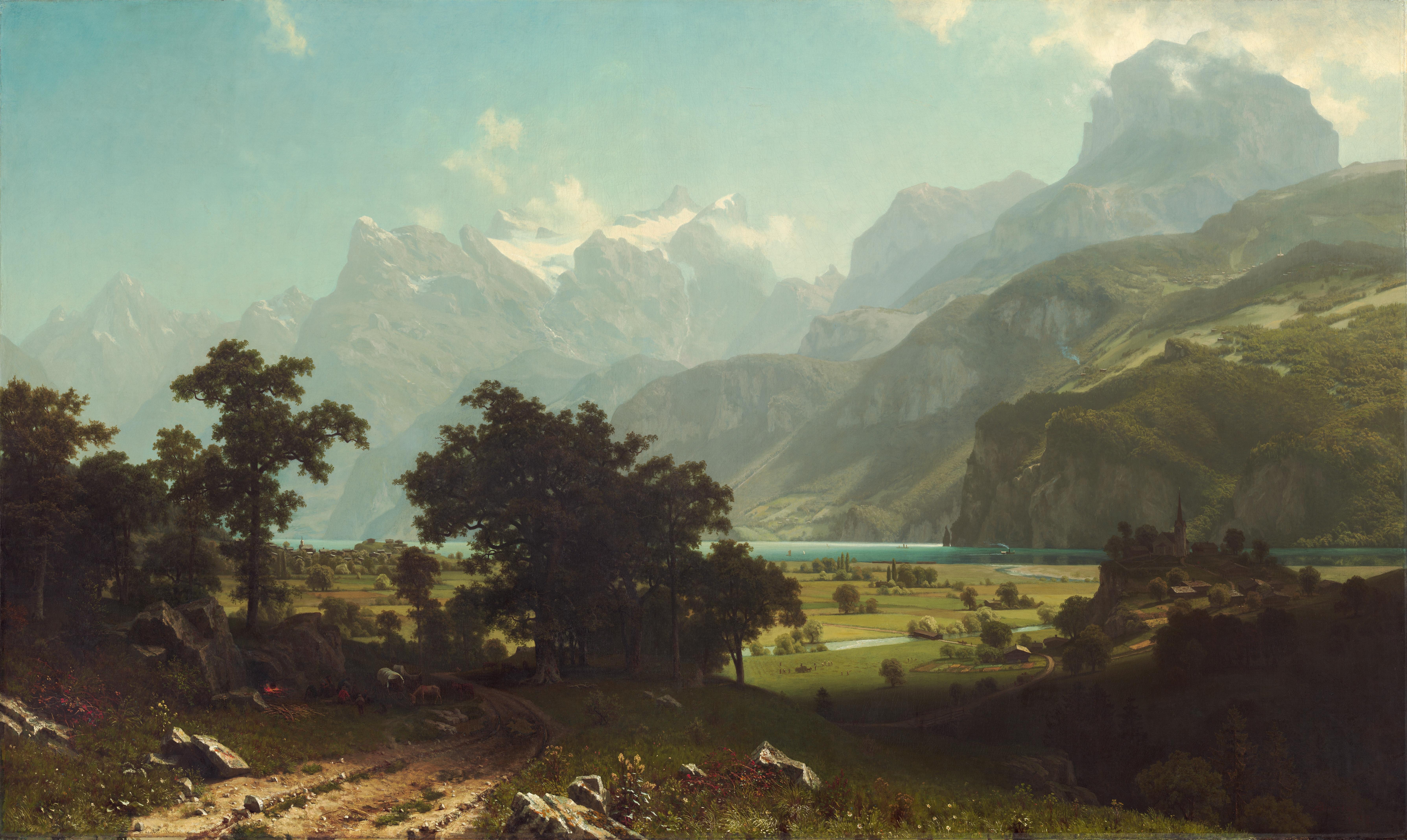 https://upload.wikimedia.org/wikipedia/commons/9/95/Albert_Bierstadt_-_Lake_Lucerne.jpg