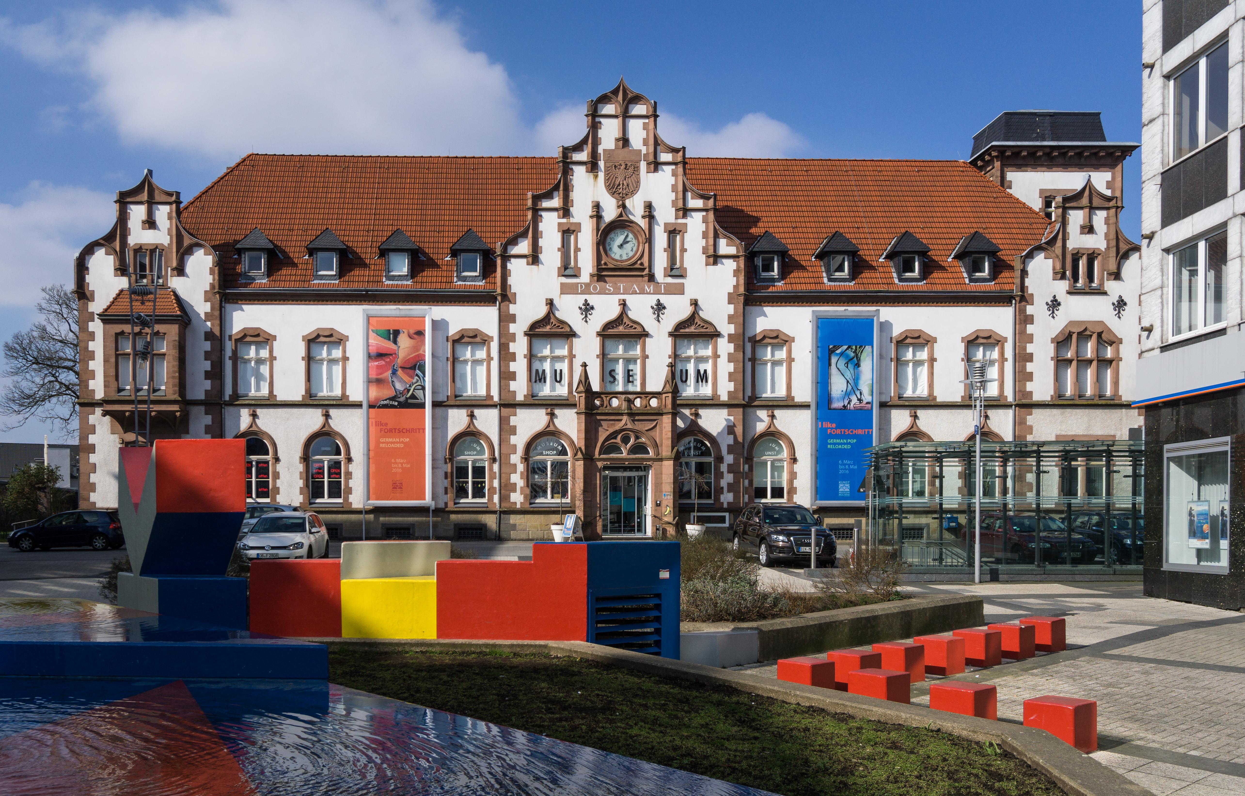 Datei alte post m lheim wikipedia for Schwimmbad mulheim an der ruhr