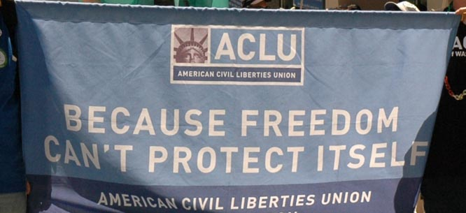 aclu vow to individual freedoms