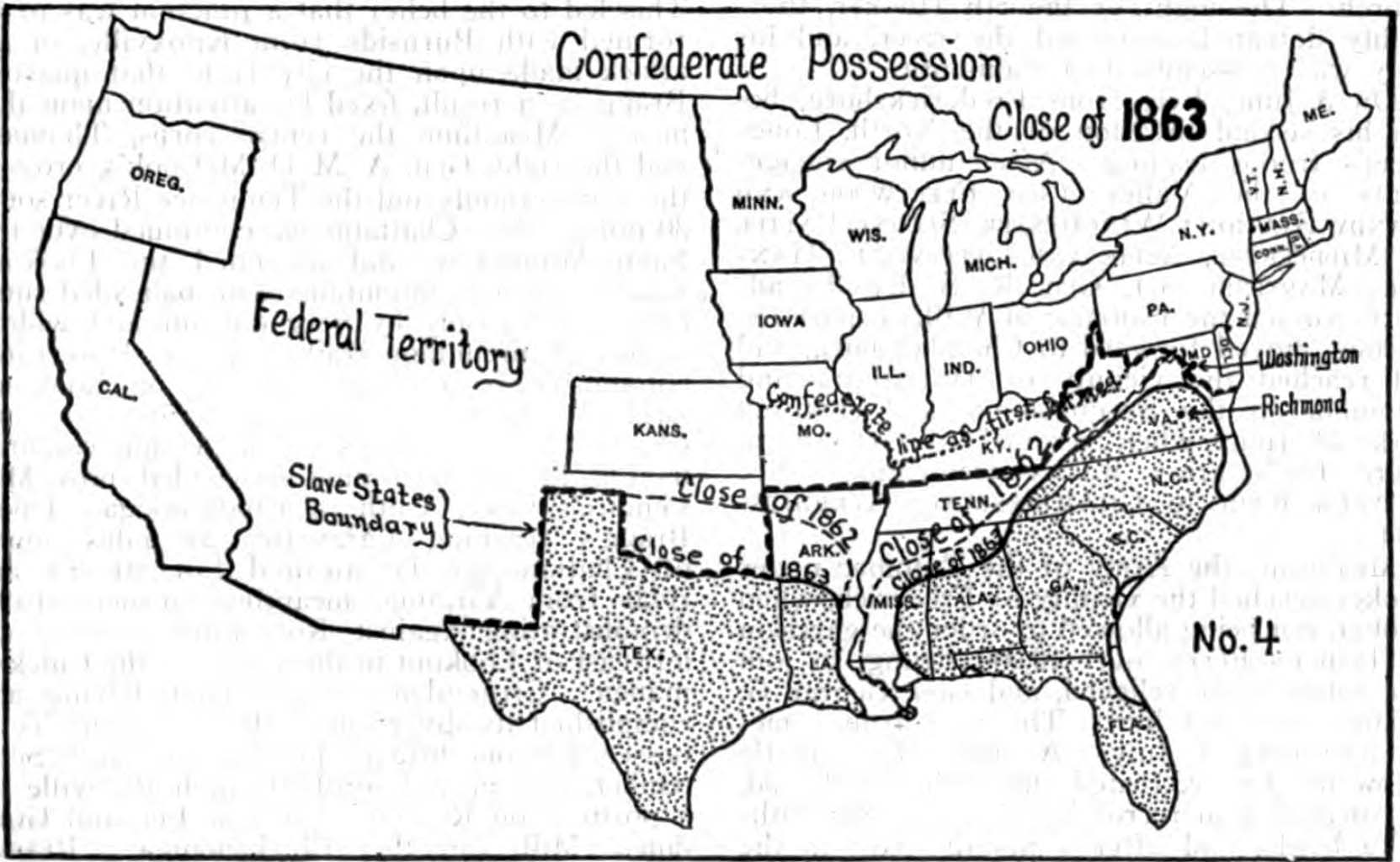 Us Map During Civil War - Map of the us during civil war