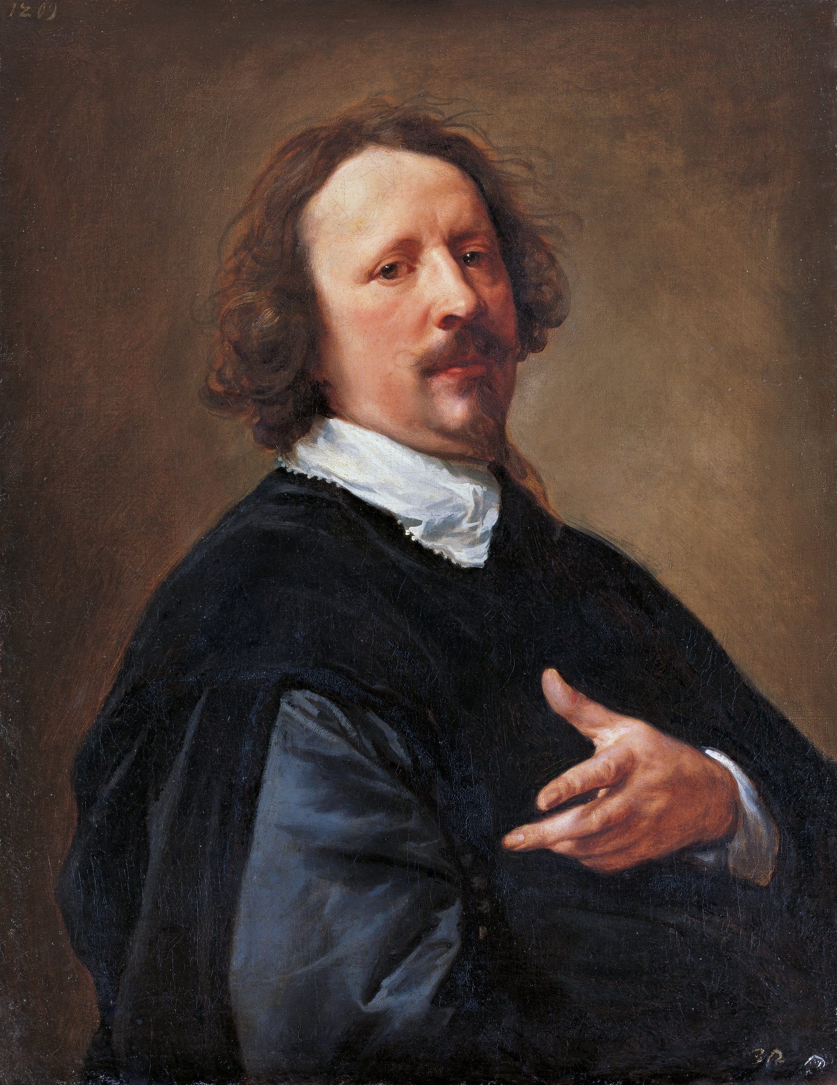 Anthony van Dyck - Portrait of the Painter Gaspar de Crayer