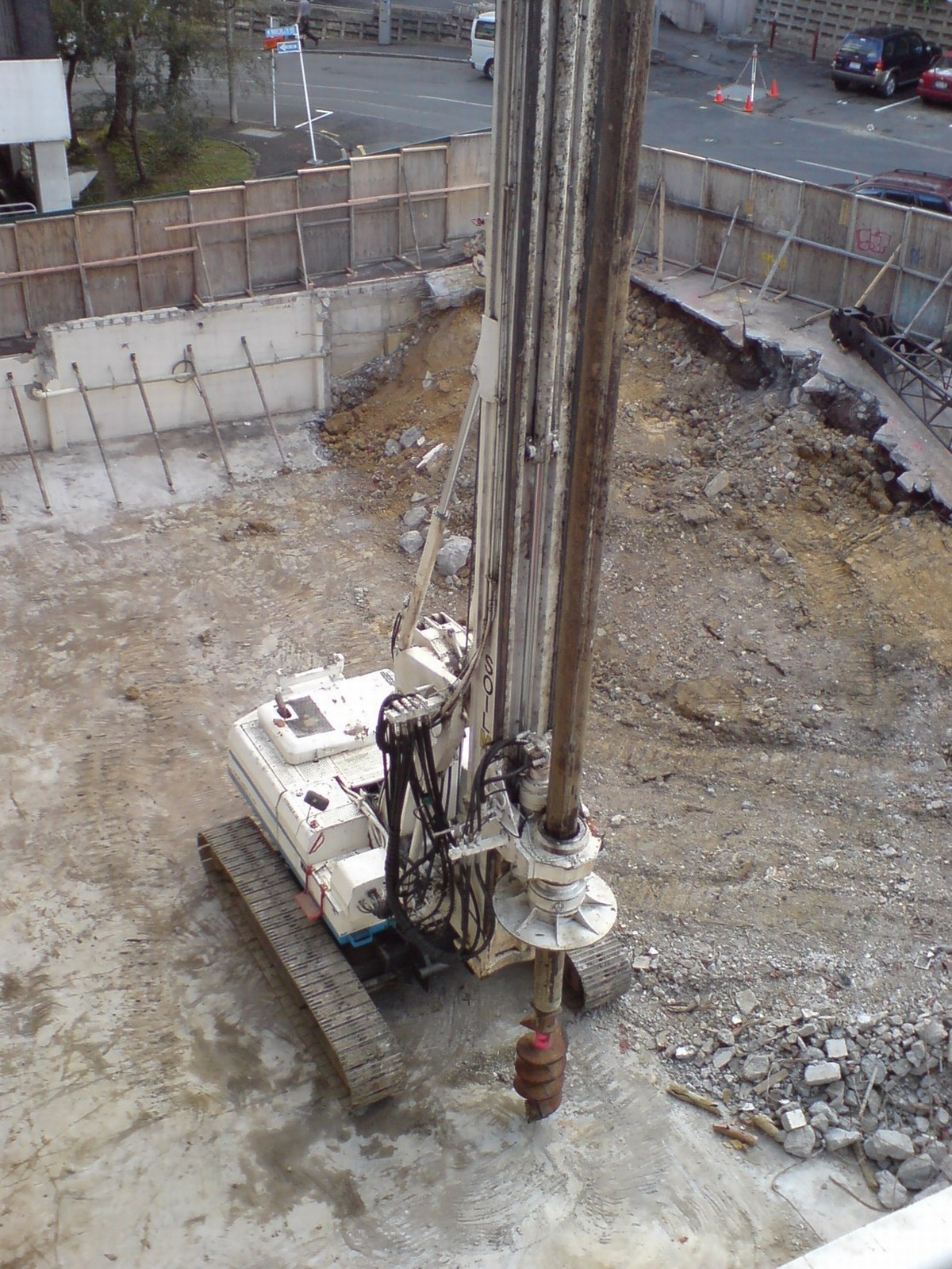 File Auger Foundation Pile Drill Wikipedia