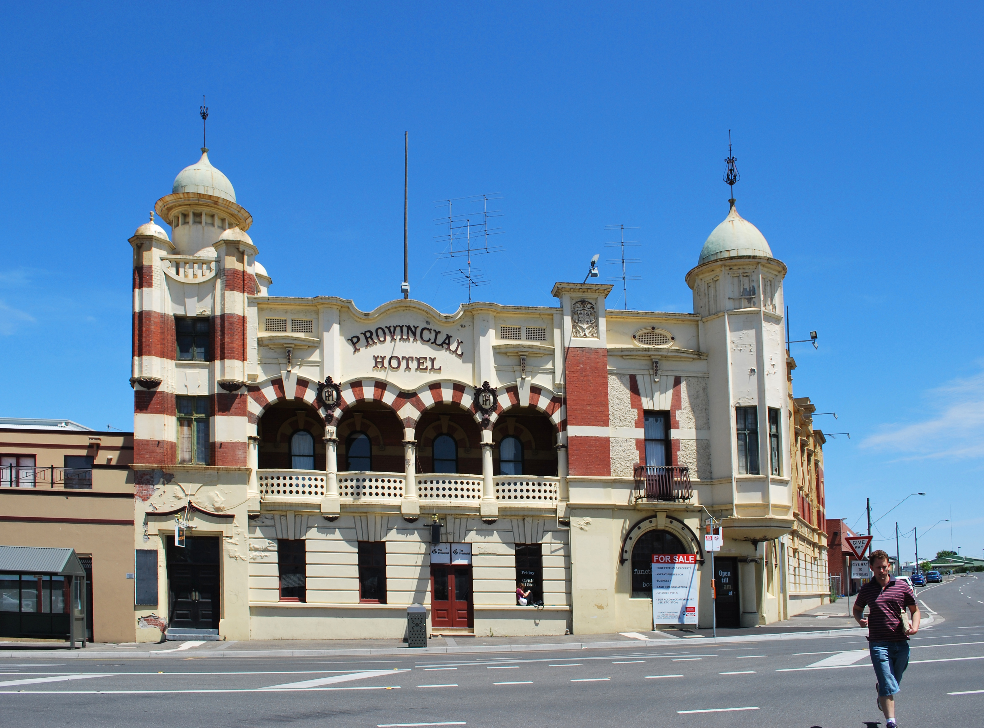 Ballarat Australia  City new picture : Description Ballarat Provincial Hotel 002