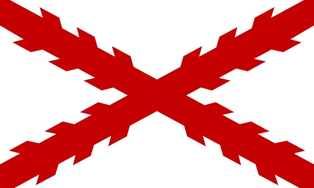 Archivo:Bandera De La Cruz De Borgoña.png