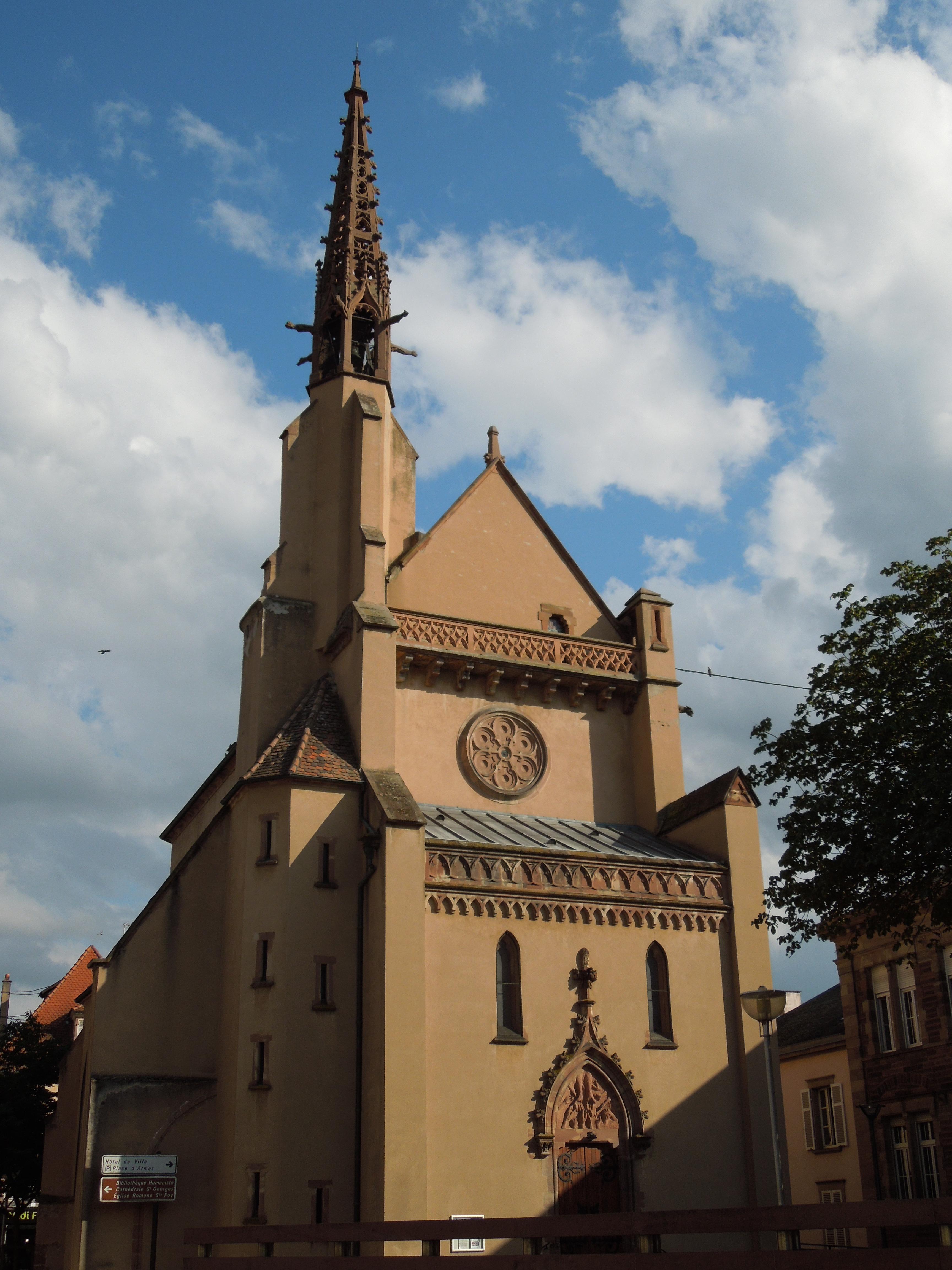 Architecte Bas Rhin file:bas-rhin, sélestat - Église protestante - wikimedia