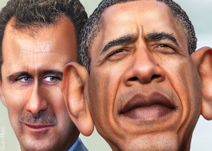 Bashar Hafez al-Assad and Barack Obama (9673668097).jpg