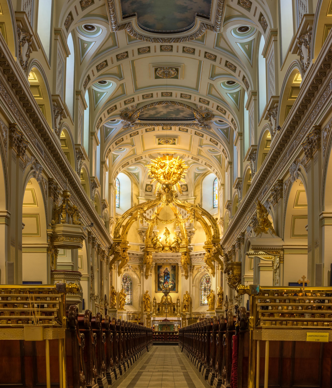 Archivo:Basilique Notre Dame de Québec, Quebec city.jpg ...