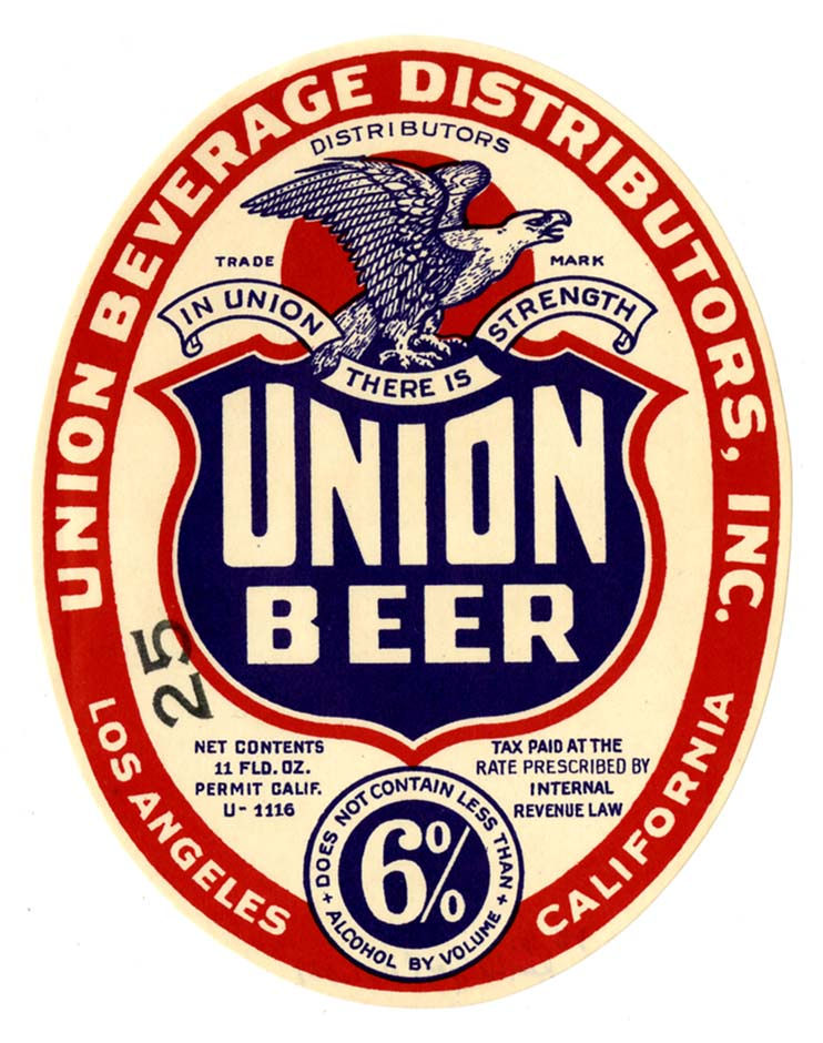 FileBeer Label Union Beer LaJpg  Wikimedia Commons