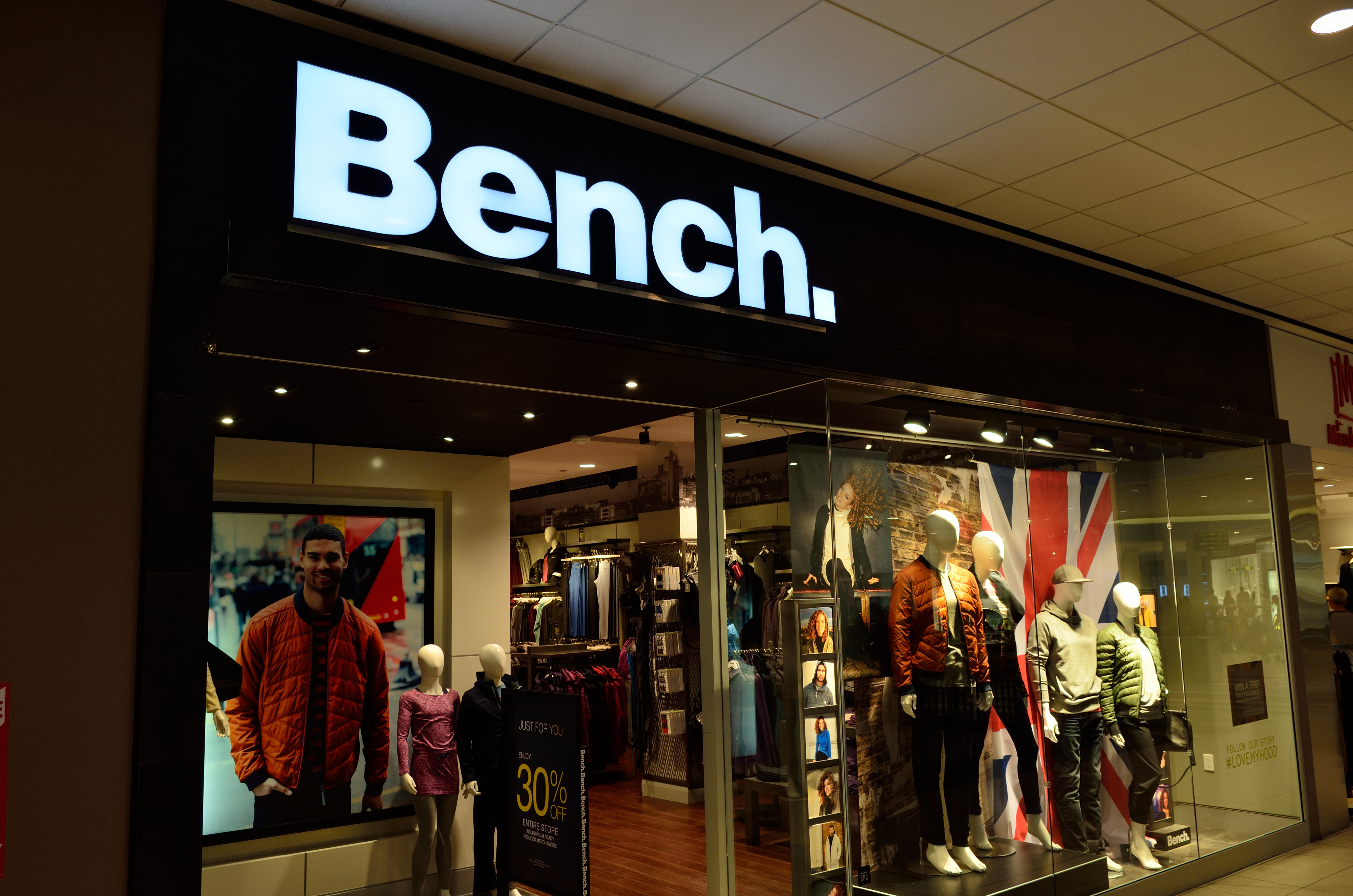 Bench Brand Clothing Canada