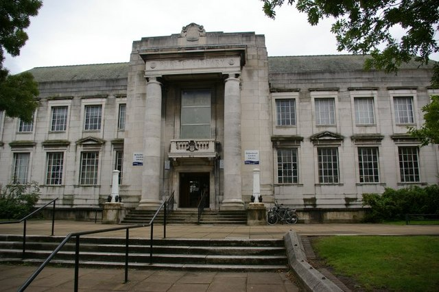 Birkenhead Central Library - geograph.org.uk - 532728