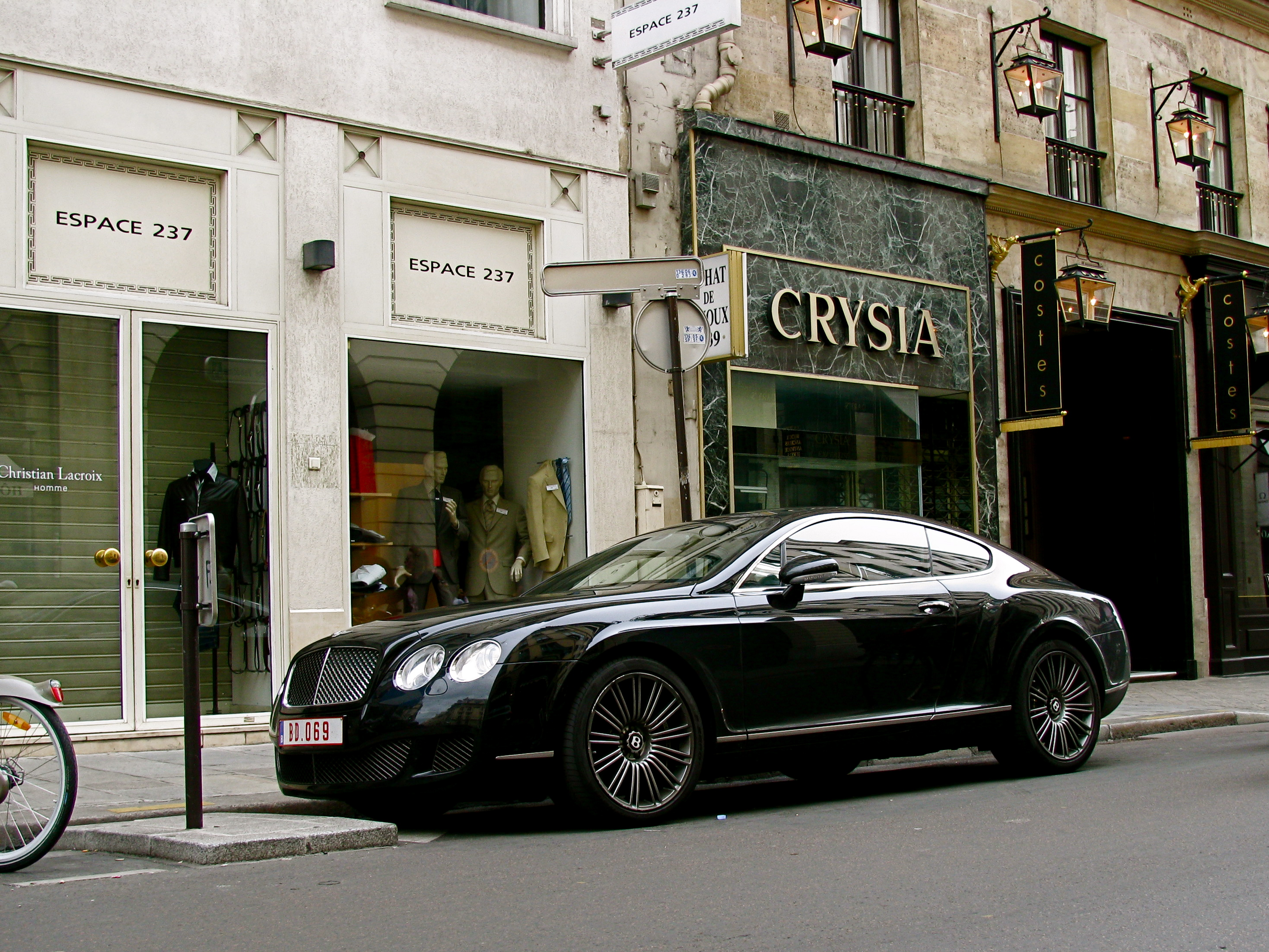 File Black Bentley Continental Gt Speed Jpg Wikimedia
