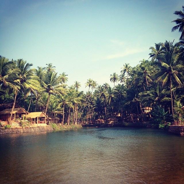 Cola Beach Lagoon Near Agonda