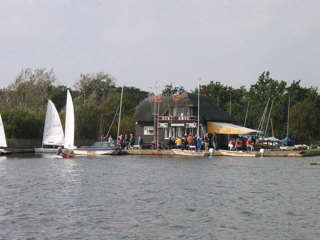 Boathouse, Hickling Broad - geograph.org.uk - 961294