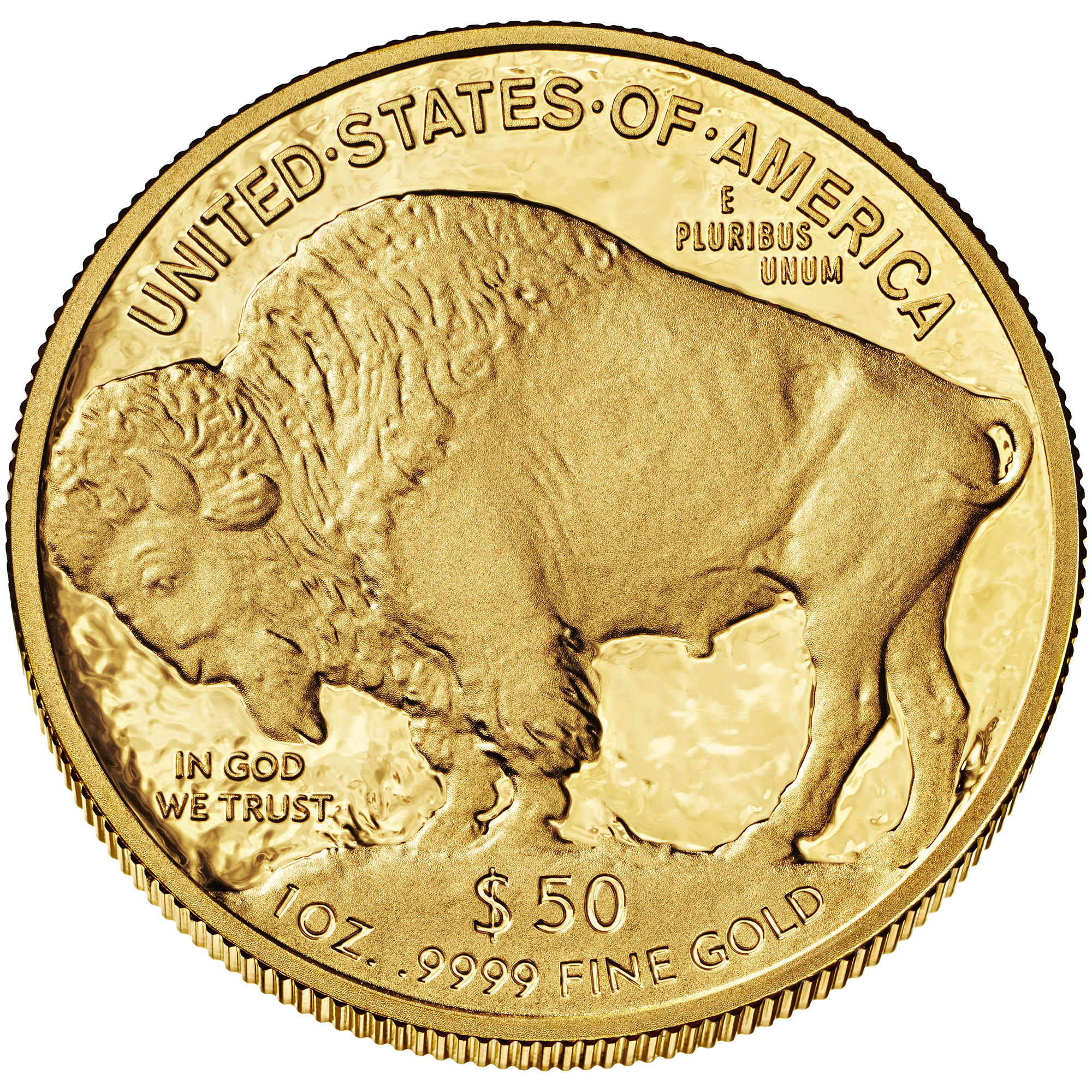 1 Troy Ounce Silver Buffalo Coin