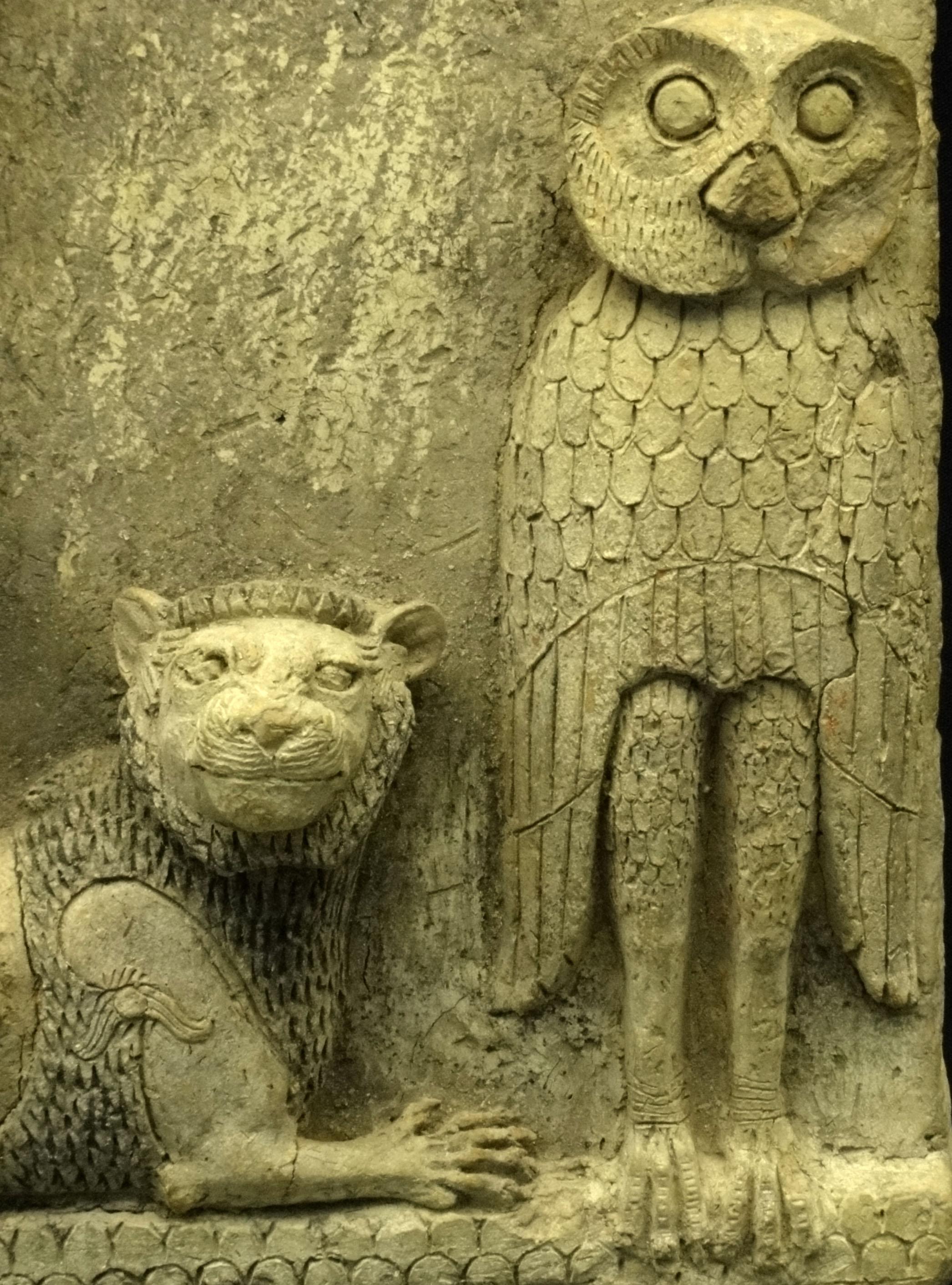Relief owl carving u custom sculpture sign company