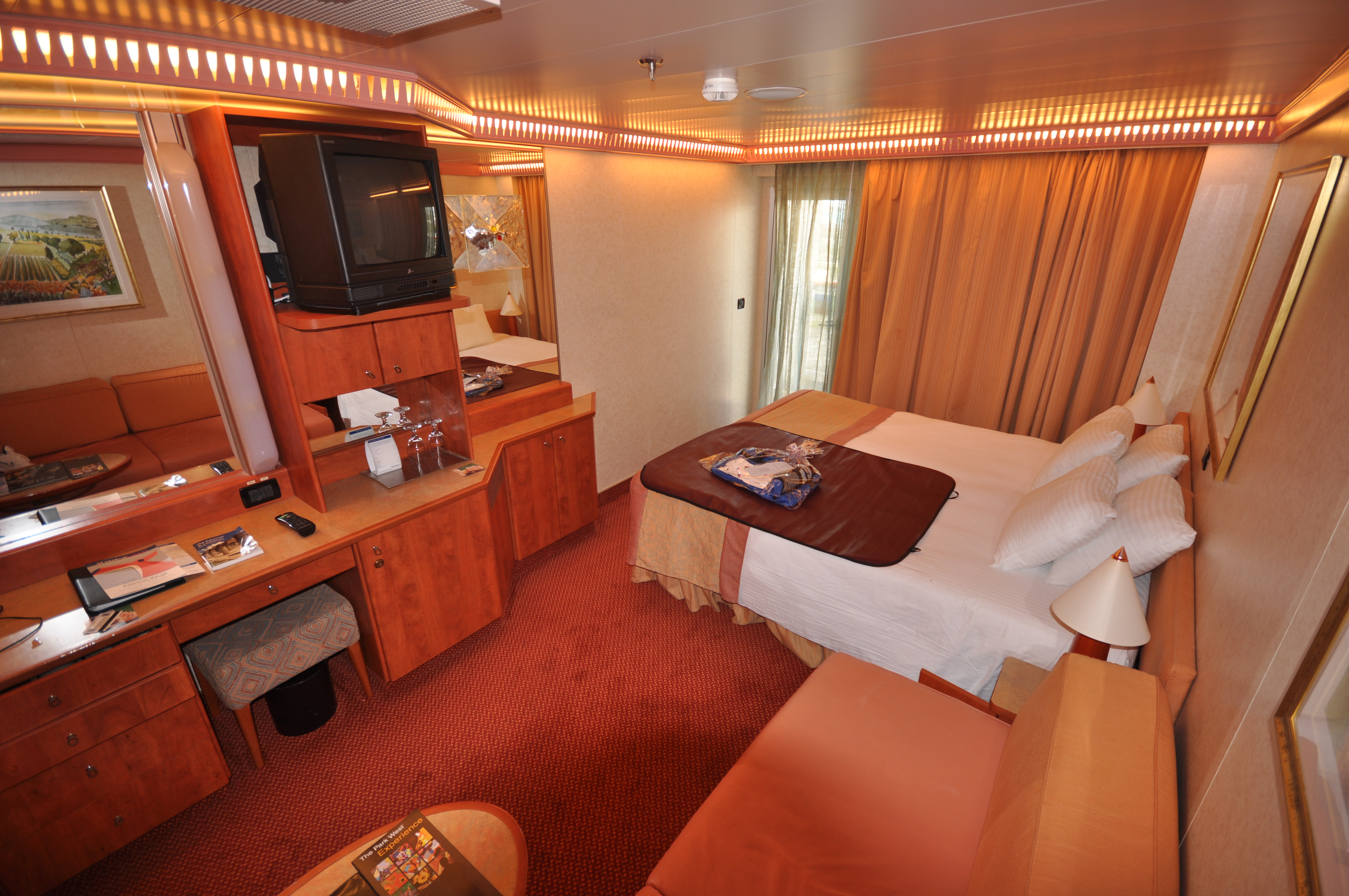 Carnival Paradise Best Rooms