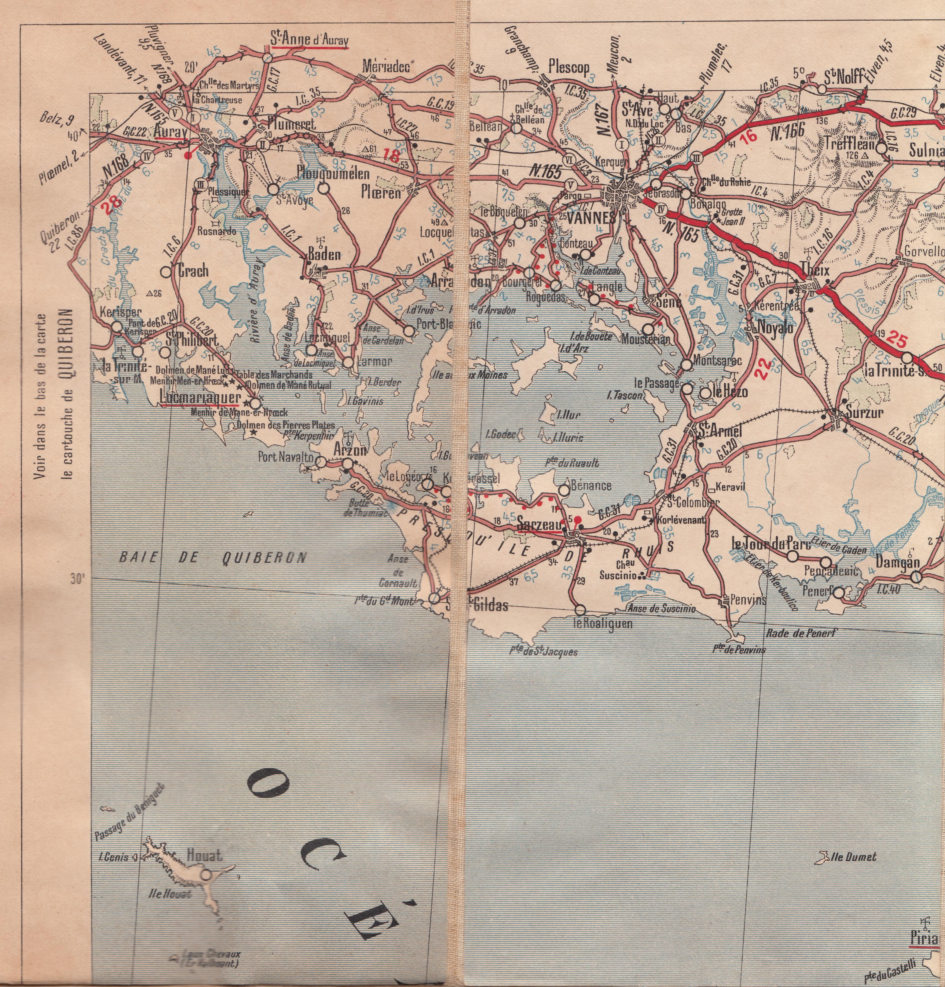 presqu île de rhuys carte File:Carte routière presqu'île de Rhuys.   Wikimedia Commons