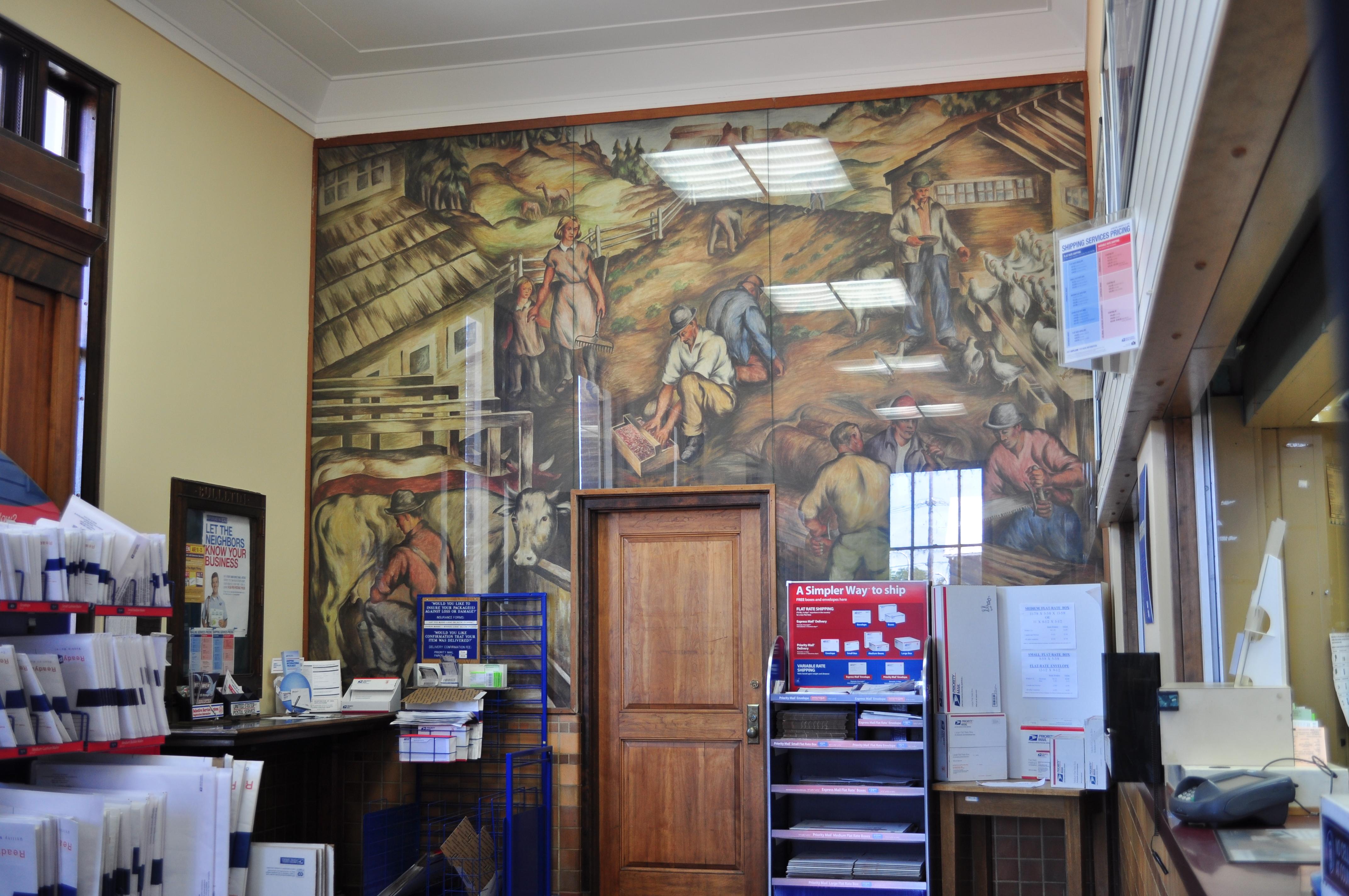 File:Centralia, WA - main post office interior 01.jpg ...