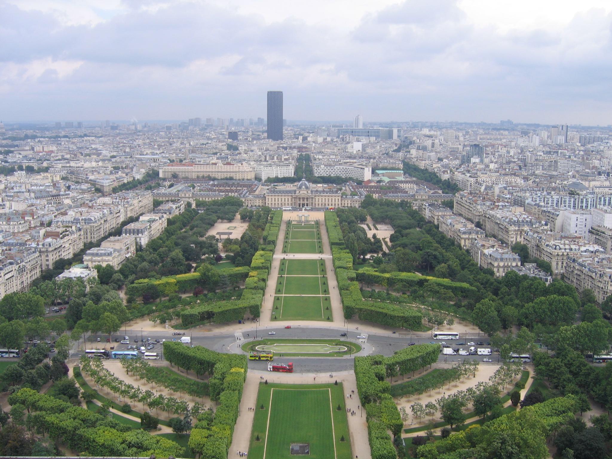 Champ De Mars Tour Eiffel Rer Station
