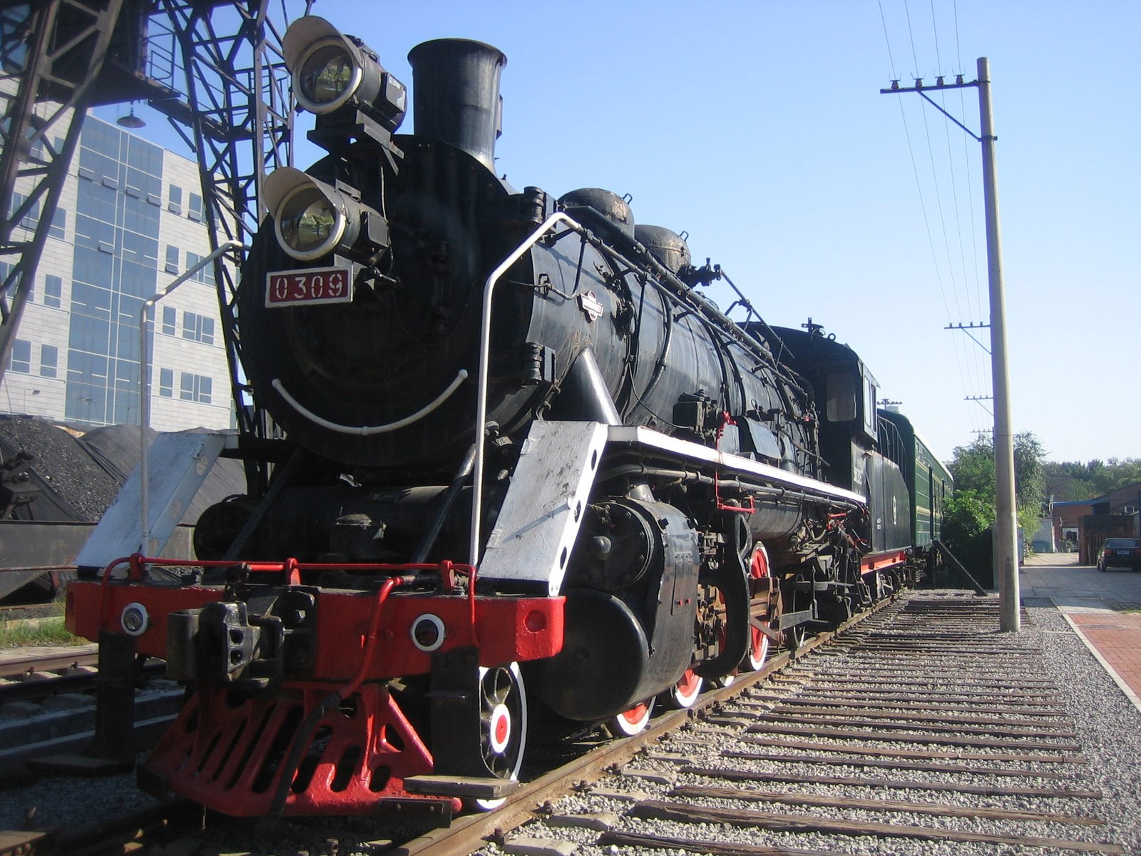 chinese steam locomotive