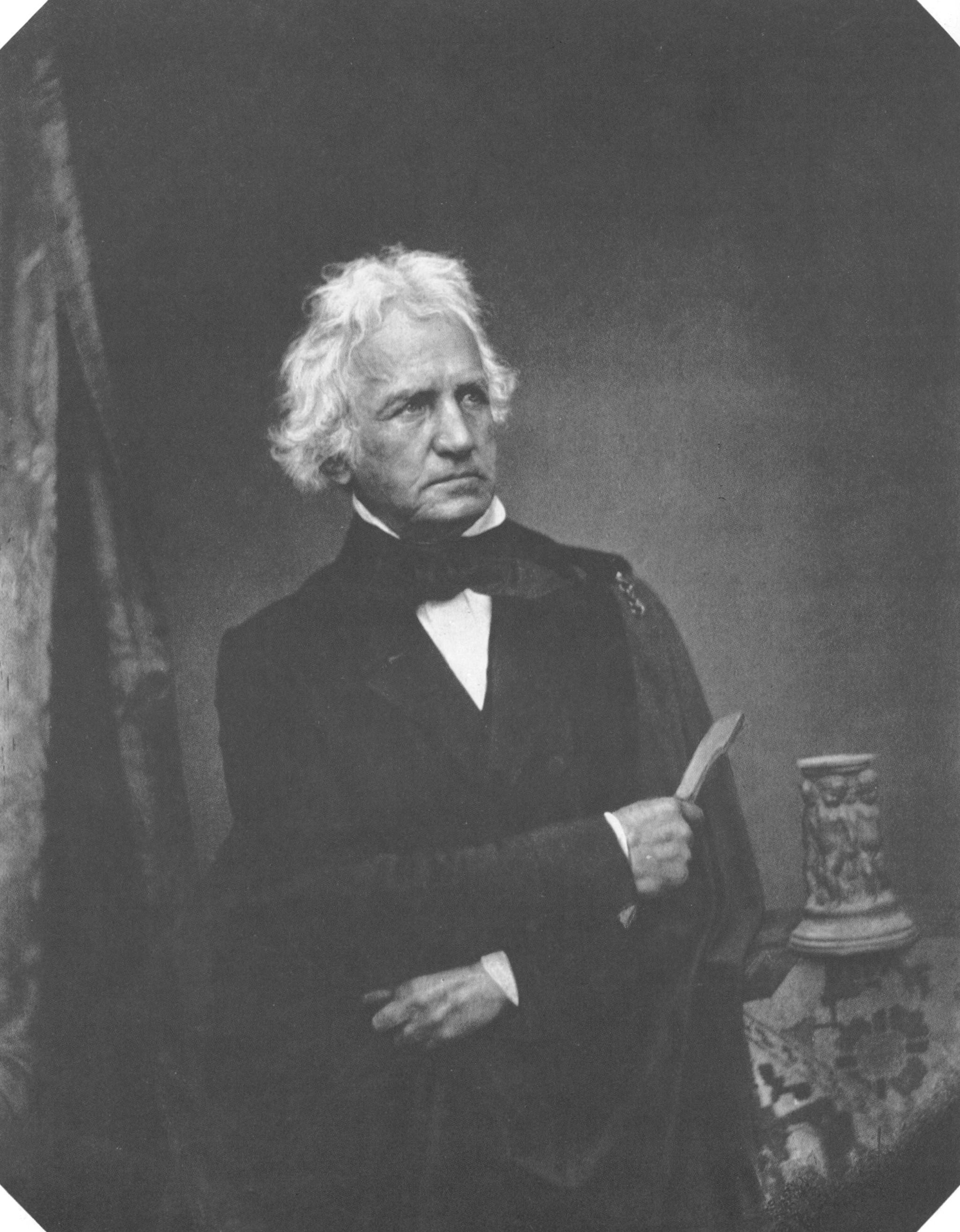 Photograph of Christian Daniel Rauch, 1855