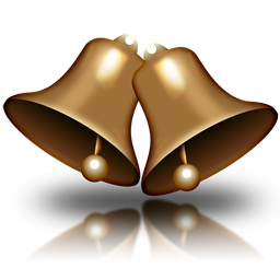 File Christmas Bell Icon 1 Png Wikimedia Commons