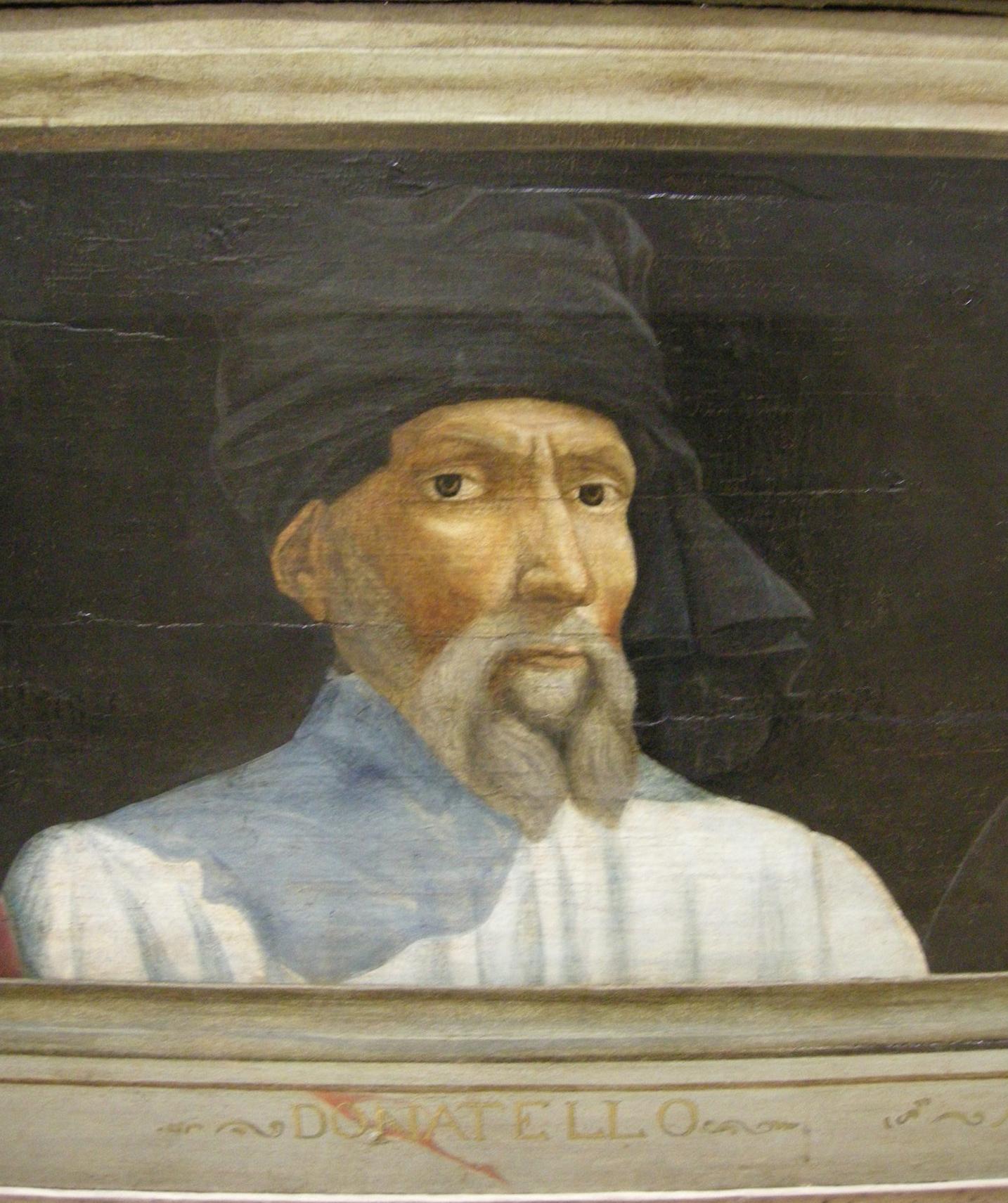 Ritratto di Donatello, anonimo del XVI secolo, Louvre